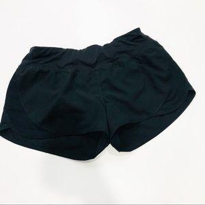 Black Champion running shorts
